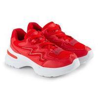 Кроссовки женские, цвет красный, размер 39
