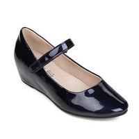 Туфли детские, цвет тёмно-синий, размер 34