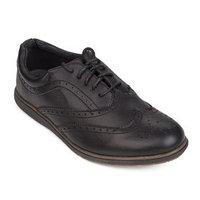 Туфли детские, цвет чёрный, размер 39