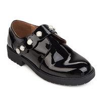 Туфли детские, цвет чёрный, размер 37