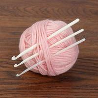 Набор крючков для вязания, d  4/5/6 мм, 14 см, 3 шт, цвет белый (комплект из 3 шт.)