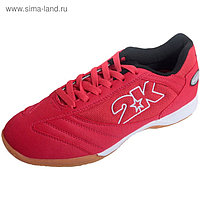 Бутсы футбольные для зала 2K Sport Porto, red, размер 43,5