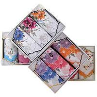 Набор женских носовых платков в коробке (3шт) ЭТНИКА, Арт.Пд6, 30х30, х/б