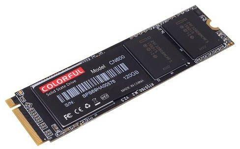 Накопитель SSD M.2 NVME Colorful 120GB CN600