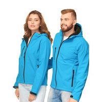 Куртка унисекс, размер 46, цвет лазурный