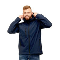 Куртка унисекс, размер 44, цвет тёмно-синий