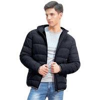 Куртка мужская, размер 48, цвет чёрный