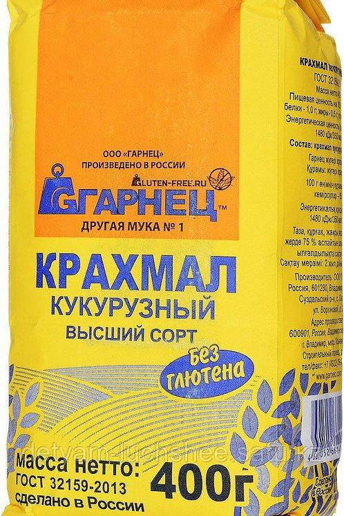 Garnec Кукурузный крахмал высший сорт 400 гр