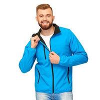 Куртка унисекс, размер 50, цвет лазурный