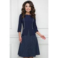 Платье-футляр 'Флавия блу', размер 52