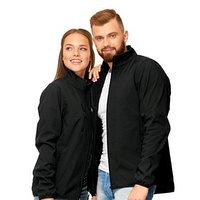 Куртка унисекс, размер 48, цвет чёрный