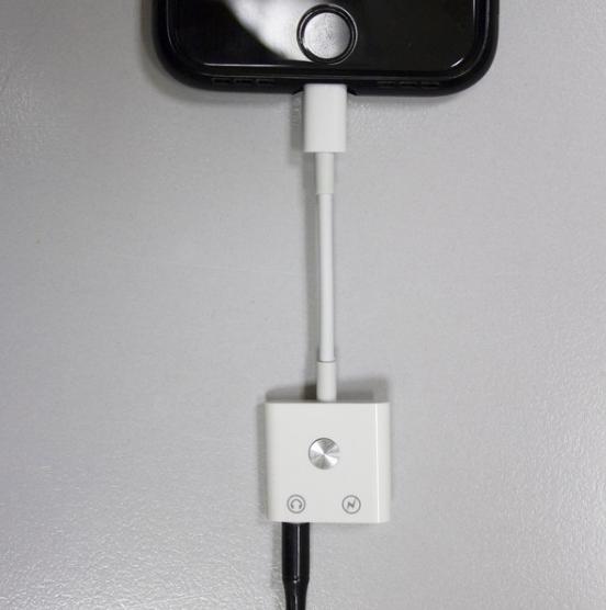 Расширитель разъема Lightning для подключения наушников и зарядки одновременно, Lightning to 3.5 mm jack/Light - фото 4