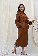 Кашемировое коричневое пальто от La Vie, Турция 46