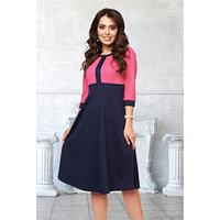 Платье 'Моника трамонто' цвет розовый, синий, размер 52