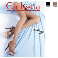 Колготки женские Giulietta SOLO 20 den, цвет бронзовый загар (glace), размер 2