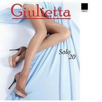 Колготки женские Giulietta SOLO 20 ден цвет чёрный (nero), размер 3