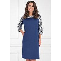 Платье 'Валенца блу', размер 50