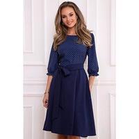 Платье 'Сивилья дарк блу', размер 46