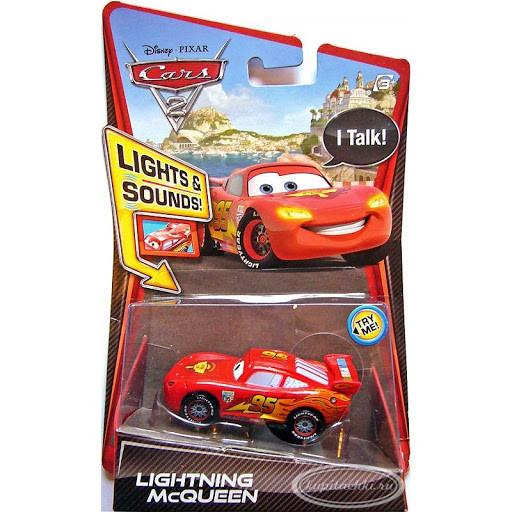 Cars / Тачки Металлическая Звуковая Модель Молния Маккуин (свет, звук)