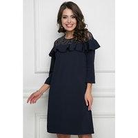 Платье 'Дарио дарк блу', размер 46
