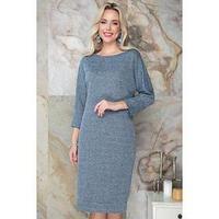Платье 'Тьерри блу', размер 48