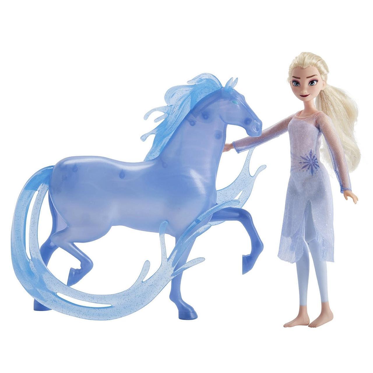 "Hasbro Disney Frozen ""Холодное Сердце 2"" Кукла Эльза и конь Нокк"