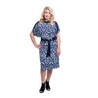 Платье с ремнем, размер 54