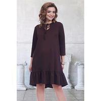 Платье 'Марика браун', размер 44