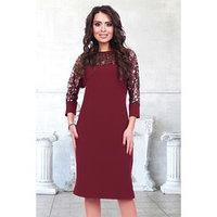 Платье 'Венеция бордо', размер 44
