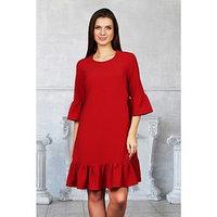 Платье 'Адель' цвет красный, размер 44