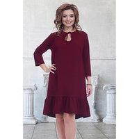 Платье 'Марика бордо' размер 52