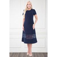 Платье 'Латерина блу' цвет синий, размер 46