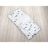 Спальный мешок Exclusive Soft Collection, размер 45 x 100 см, принт треугольники