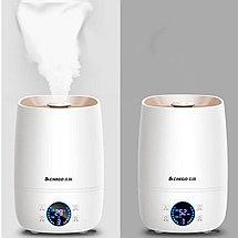 Ультразвуковой увлажнитель воздуха 4л с Гигрометром, термометром и Аромадиффузор, фото 3