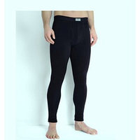 Кальсоны мужские, размер 42, рост 170-176 см, цвет чёрный