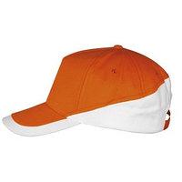 Бейсболка BOOSTER, цвет оранжевый, белый