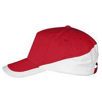 Бейсболка BOOSTER, цвет красный, белый