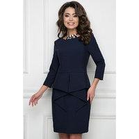 Платье 'Битрито блу', размер 54