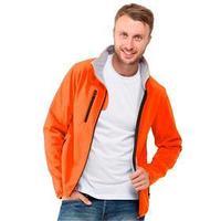 Куртка мужская, размер S, цвет оранжевый