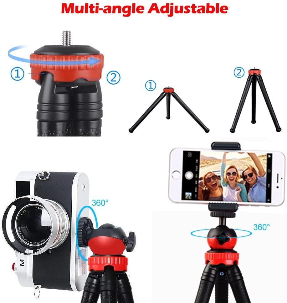 Трипод/гибкий штатив для телефона, камеры, GoPro, 10-30 см, Flexible Tripod JM-801 - фото 2