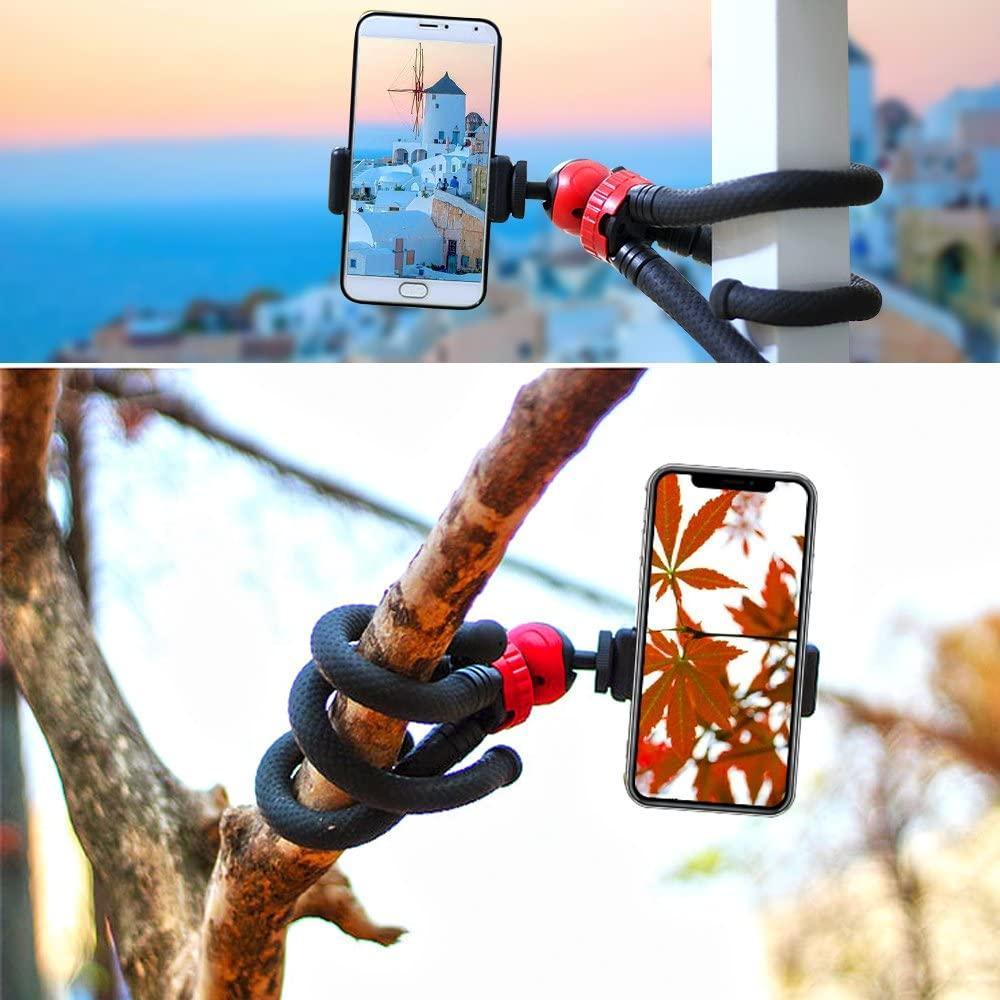 Трипод/гибкий штатив для телефона, камеры, GoPro, 10-30 см, Flexible Tripod JM-801 - фото 4