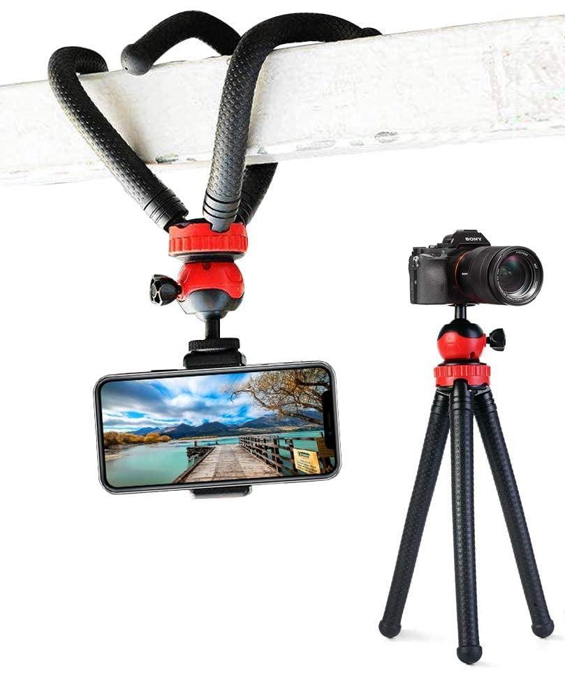 Трипод/гибкий штатив для телефона, камеры, GoPro, 10-30 см, Flexible Tripod JM-801 - фото 5