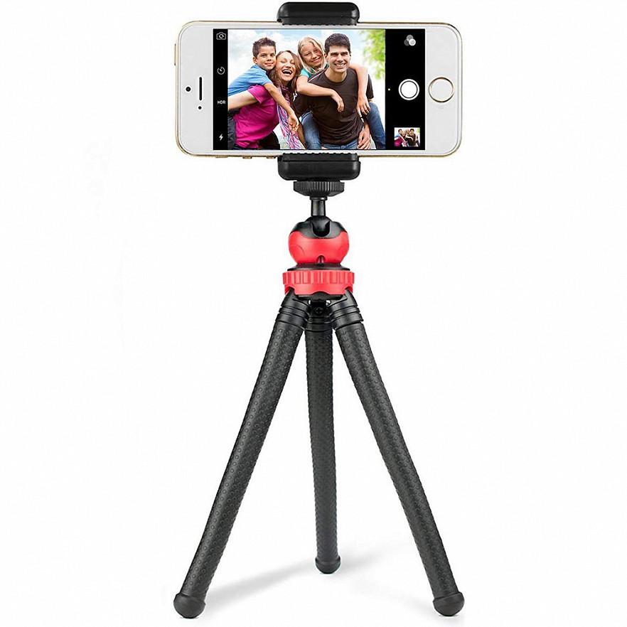 Трипод/гибкий штатив для телефона, камеры, GoPro, 10-30 см, Flexible Tripod JM-801 - фото 7