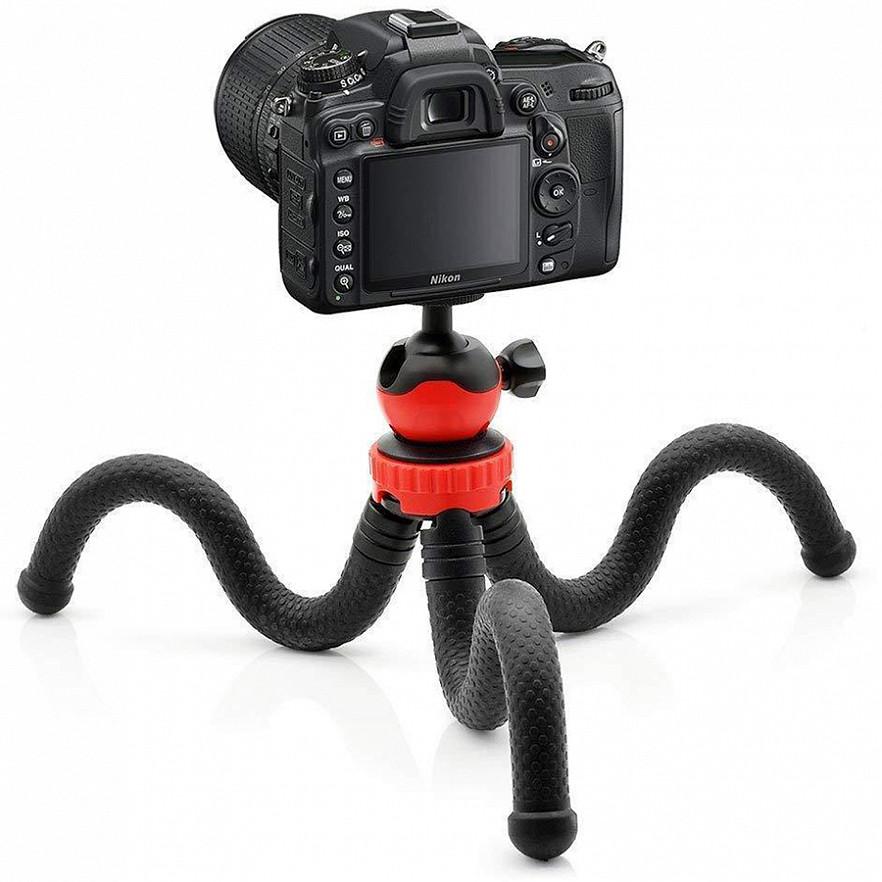 Трипод/гибкий штатив для телефона, камеры, GoPro, 10-30 см, Flexible Tripod JM-801 - фото 6
