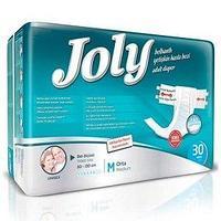 Подгузники для взрослых Joly, размер M объем 80-130 см №30 шт