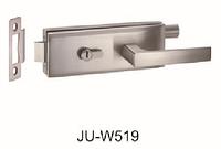 Нажимной замок,комплект /цилиндр/ключ,Цвет матовый нежавеющая сталь,SS 304
