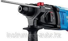 Перфоратор SDS-plus, ЗУБР, реверс, горизонтальный, 2.3 Дж, 0-1950 об/мин, 0-6200 уд/мин, 650 Вт, кейс, фото 3