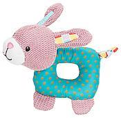 Игрушка Trixie Junior плюшевый кролик для щенков и собак, со звуком - 16 см