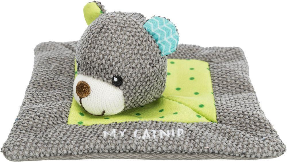 Игровой коврик Trixie Junior для котят, с медвежонком, с кошачей мятой - 13 × 13 cm