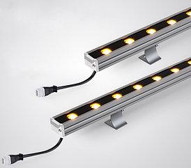 Светодиодные линейные прожекторы 36Вт RGB